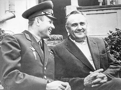 Yury-A-Gagarin-Sergey-P-Korolyov-space-1961